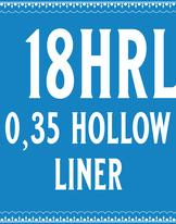 35/18 Hollow Round Liner Cartridge
