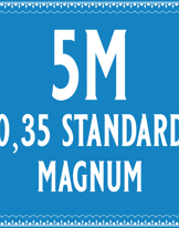 35/5 Standard Magnum Cartridge