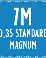 35/7 Standard Magnum Cartridge