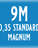 35/9 Standard Magnum Cartridge