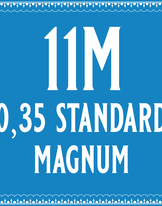 35/11 Standard Magnum Cartridge