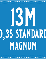 35/13 Standard Magnum Cartridge