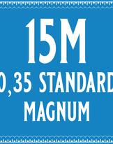 35/15 Standard Magnum Cartridge