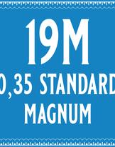 35/19 Standard Magnum Cartridge