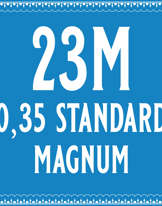 35/23 Standard Magnum Cartridge