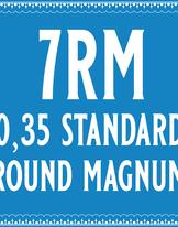 35/7 Standard Round Magnum Cartridge