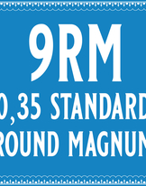 35/9 Standard Round Magnum Cartridge