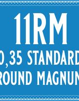 35/11 Standard Round Magnum Cartridge