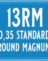 35/13 Standard Round Magnum Cartridge