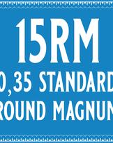35/15 Standard Round Magnum Cartridge