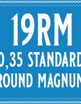 35/19 Standard Round Magnum Cartridge