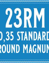 35/23 Standard Round Magnum Cartridge