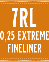 25/7 Extremely Fine Round Liner