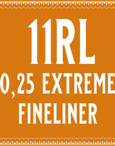 25/11 Extremely Fine Round Liner