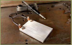Al Brodeur Foot Switch Aluminium