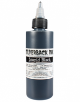 Stupid Black - Silverback ink	4oz/120ml