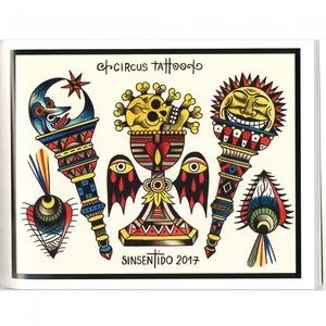 Deno Sins Tattoo Flash V1 Book