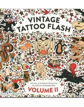 Vintage Tattoo Flash Book 2