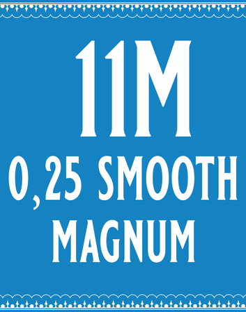 25/11 Smooth Magnum Cartridge