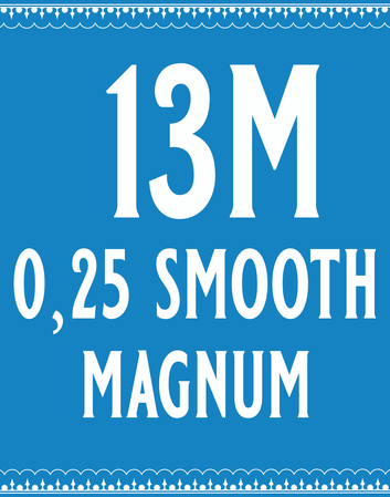 25/13 Smooth Magnum Cartridge
