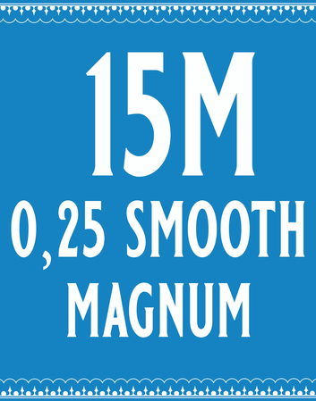25/15 Smooth Magnum Cartridge