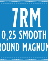 25/7 Smooth Round Magnum Cartridge
