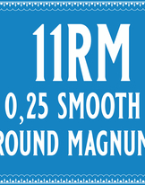 25/11 Smooth Round Magnum Cartridge