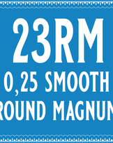 25/23 Smooth Round Magnum Cartridge