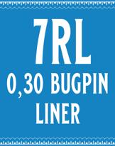 30/7 Bugpin Round Liner Cartridge