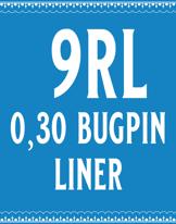 30/9 Bugpin Round Liner Cartridge