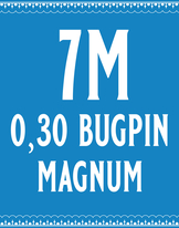 30/7 Bugpin Magnum Cartridge