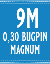 30/9 Bugpin Magnum Cartridge