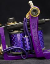 Mini Bulldog Liner Custom Made - Purple Pimp