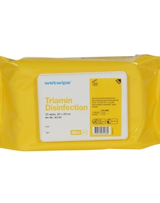 Wetwipe Disinfection wipes 30x20cm 25pcs