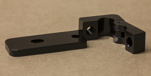 Front Hinged Tube Wise - Black