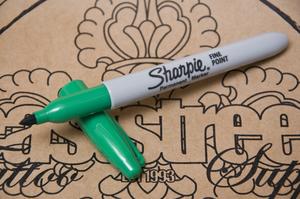 Sharpie Penna Grön