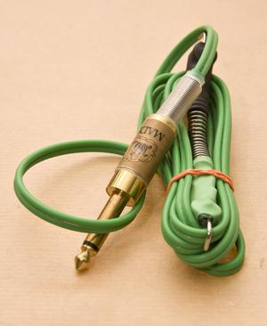LS Green Silicone Clipcord