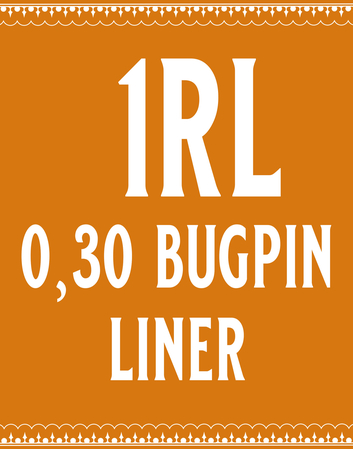30/1 Bugpin Round Liner