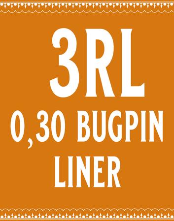 30/3 Bugpin Round Liner