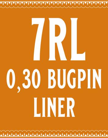 30/7 Bugpin Round Liner