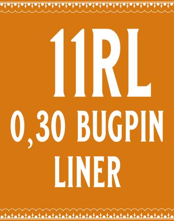 30/11 Bugpin Round Liner
