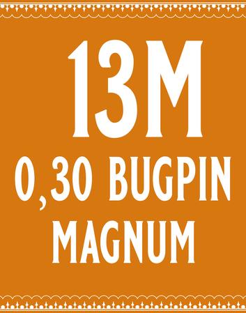 30/13 Bugpin Magnum