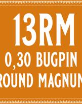 30/13 Bugpin Round Magnum