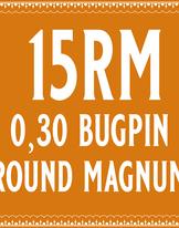 30/15 Bugpin Round Magnum