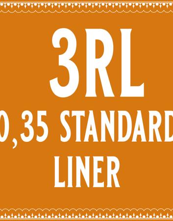35/3 Standard Round Liner