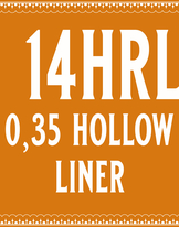 35/14 Hollow Round Liner
