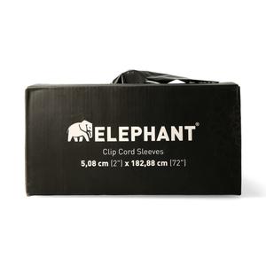 Elephant Extra Long Clip cord sleeves