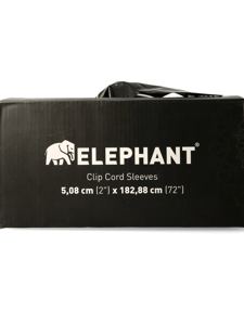 Elephant Extra Long Clip cord sleeves
