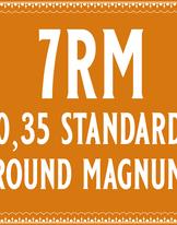 35/7 Standard Round Magnum