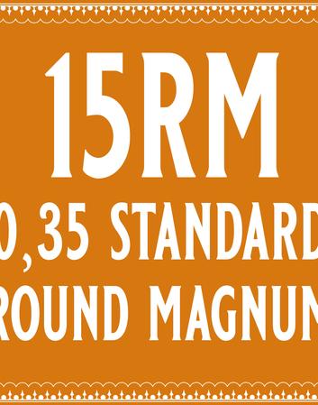 35/15 Standard Round Magnum